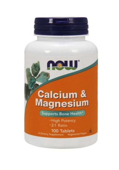 Now Foods Calcium & Magnesium (100 tabletta)