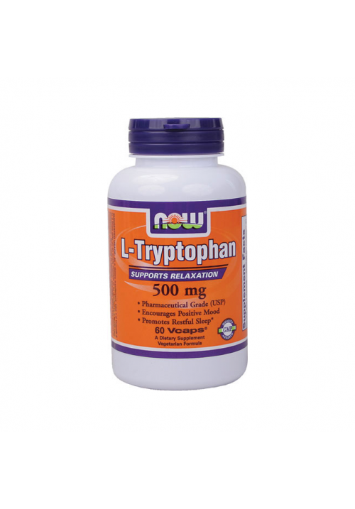 Now Foods L-Tryptophan (500 mg 60 kapszula)