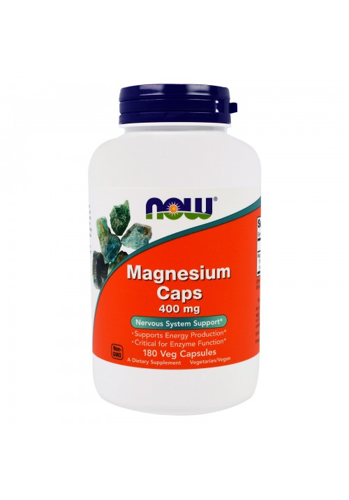 Now Foods Magnesium 400 mg (180 kapszula)