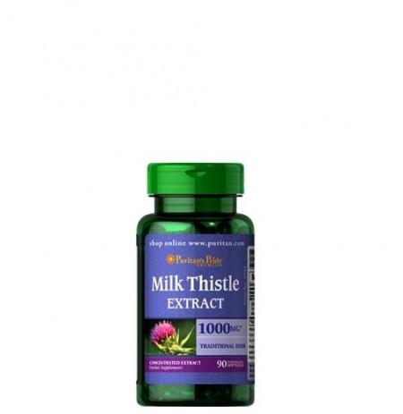 Puritan's Pride Milk Thistle Extract (Máristövis) 1000mg (90 kapszula)