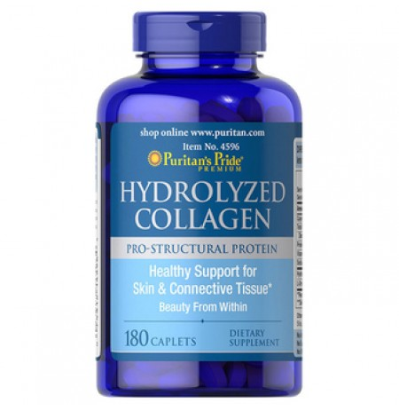 Puritan's Pride Hydrolyzed Collagen 1000mg (180 Kapszula)