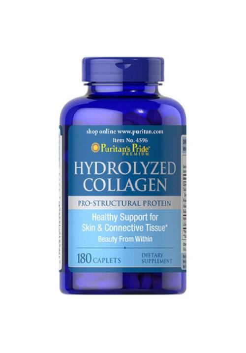 Puritan's Pride Hydrolyzed Collagen 1000mg (180 Kapszula)