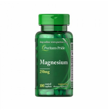 Puritan's Pride Magnesium 250 mg (100 kapszula)