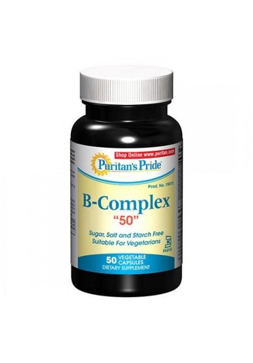 Puritan's Pride Vitamin B-Complex 50mg (50 kapszula)