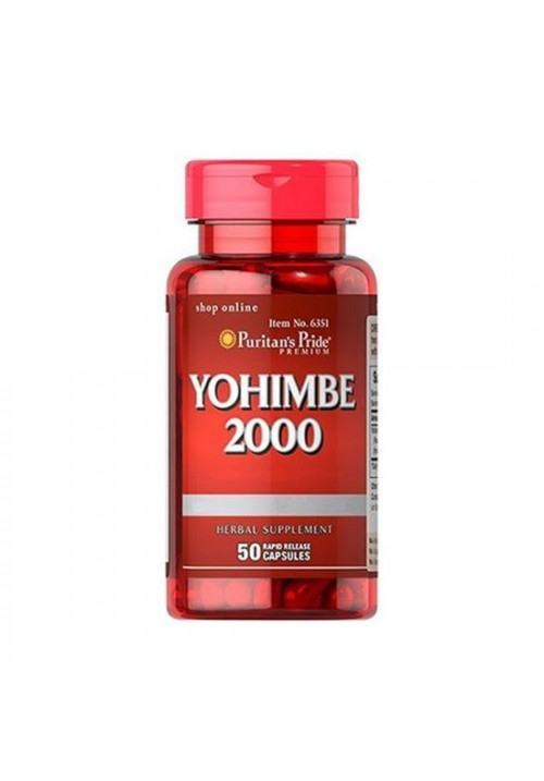 Puritan's Pride Yohimbe 2000 mg (50 Kapszula)