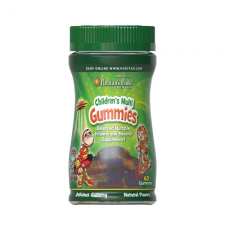 Puritan's Pride Children's Multivitamins (60 gumi)