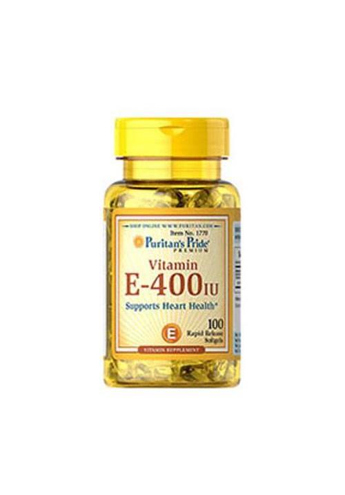 Puritan's Pride Vitamin E-400 IU Natural (100 lágyzselatin kapszula)