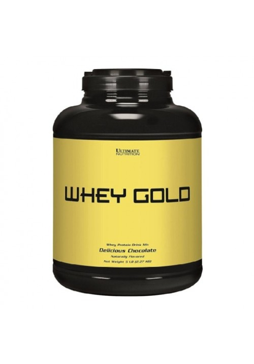 Ultimate Nutrition Whey Gold (5 lbs 2270g)
