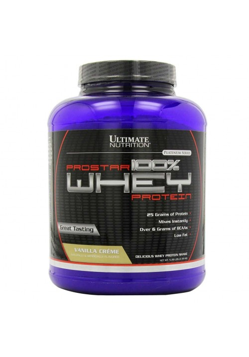 Ultimate Prostar Whey (2,4 kg 5,28 lbs )