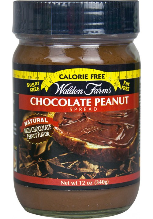 Walden Farms Spreads Chocolate Peanut (Kenhető dzsem 12 oz 340 g)
