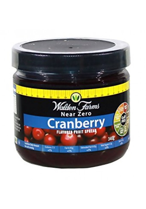 Walden Farms Spreads Cranberry (Dzsem 12 oz 340 g)