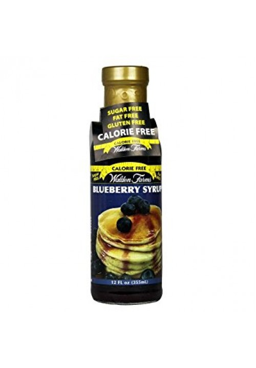 Walden Farms Blueberry Syrup (12 oz 355 ml)