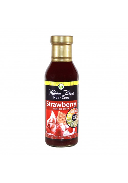 Walden Farms Strawberry Syrup (12 oz 355 ml)