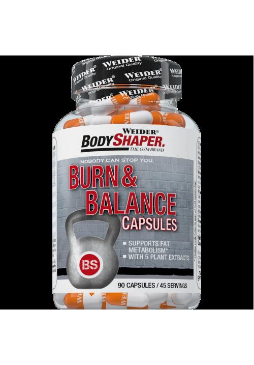 Weider BodyShaper Burn & Balance vitamin (90 kapszula)