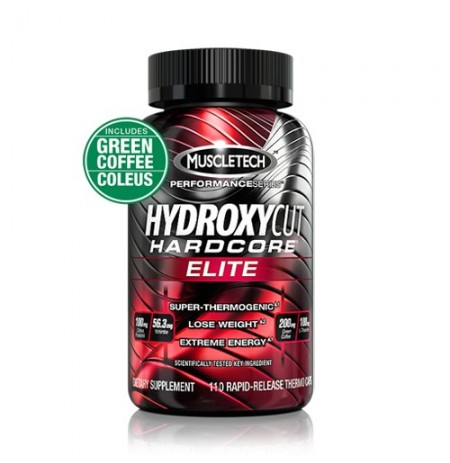 Muscletech Hydroxycut HC Elite International (110 kapszula)