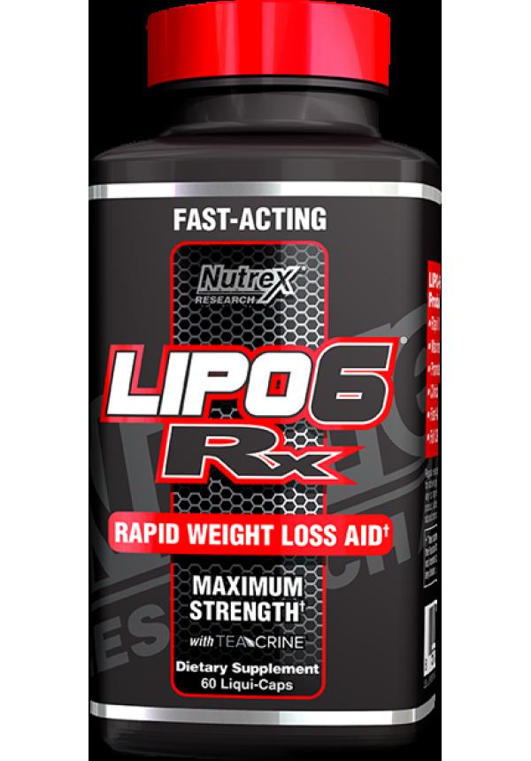 Nutrex Lipo 6 RX EU 60 Liquid Capsules 60 Gélkapszula