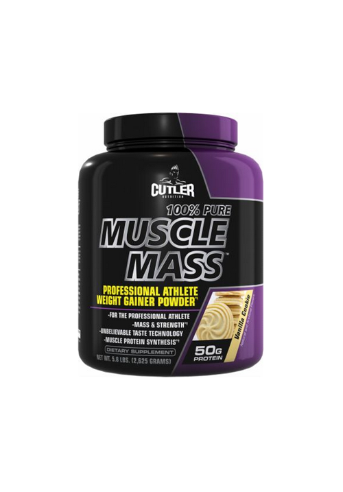 Cutler Nutrition 100% Pure Muscle Mass 2625g (5,8lbs)