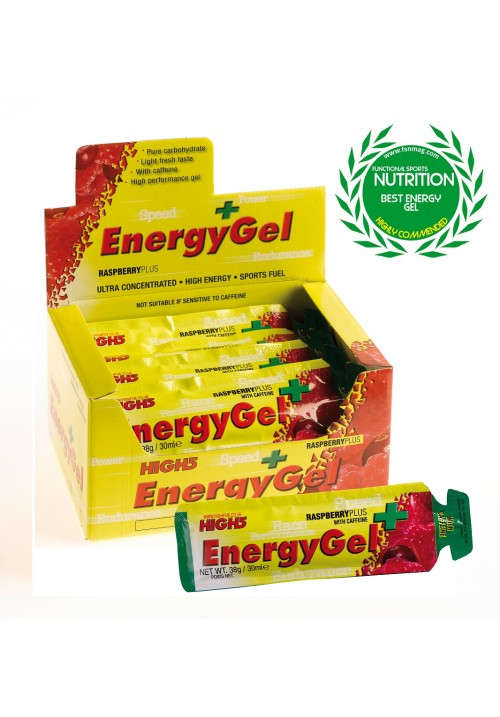 High5 Energia Gél Plus Koffeinnel (40g)