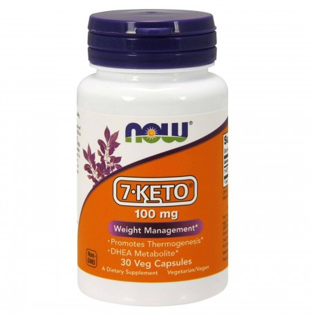Now Foods 7-KETO 100mg (30 kapszula)
