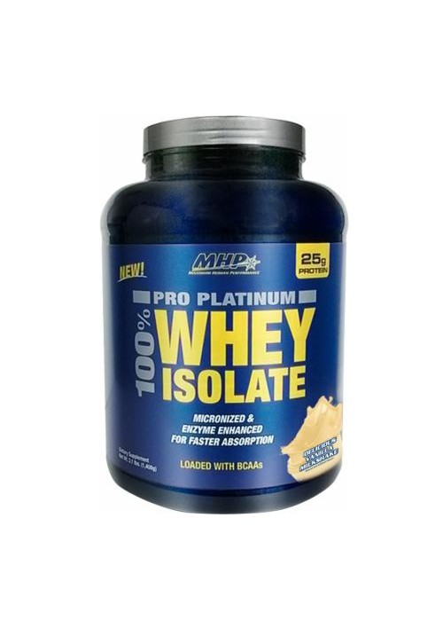MHP 100% Pro Platinum Whey Isolate 1408g (3 lbs)