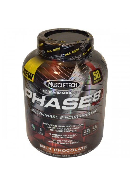 Muscletech Performance Series Phase 8 Protein (907g 2lbs)