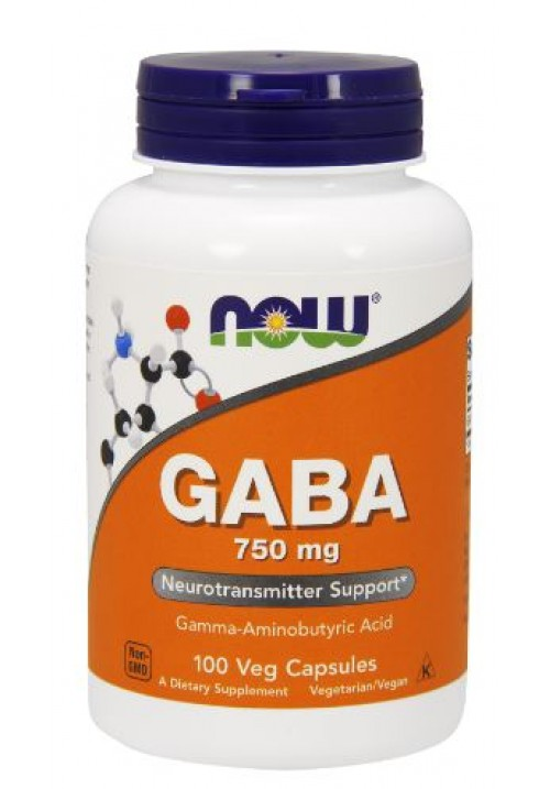 Now Foods Gaba 750mg (100 kapszula)