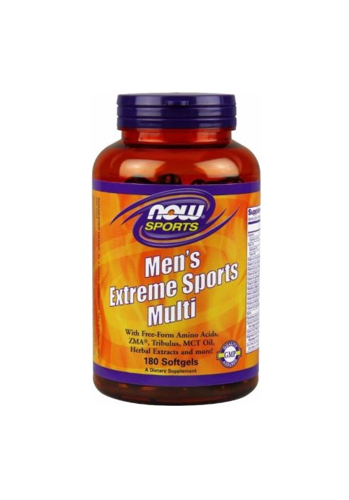 Now Foods Men's Extreme Sports Multivitamin  (90 lágyzselatin kapszula)