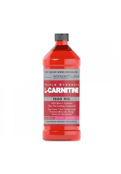 Puritan's Pride L-Carnitine 1500 mg (16 oz, 4,55 dl)