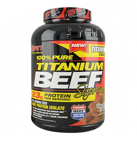 SAN 100% titanium Beef (4lbs 1810 g)