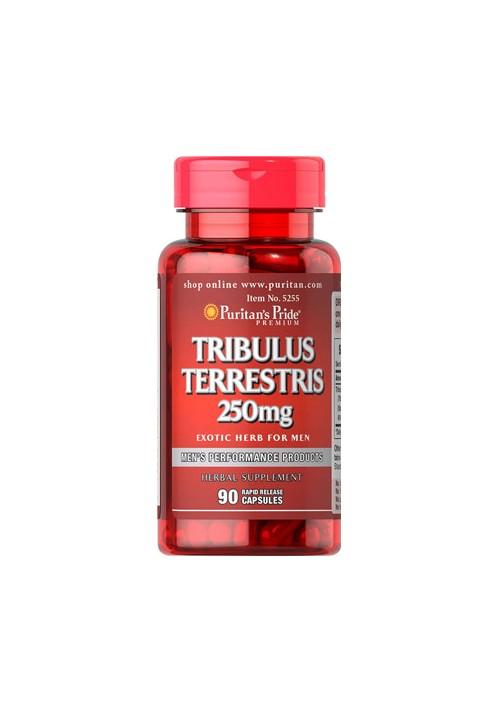 Puritan's Pride Tribulus Terrestris 250 mg (90 kapszula)